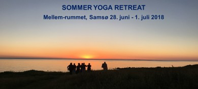 SOMMER YOGA RETREAT 2018 til mellemrummet